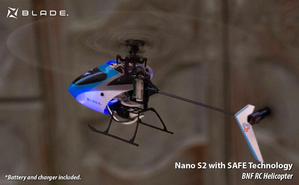 Blade Nano S2 Micro Heli with Safe RTF