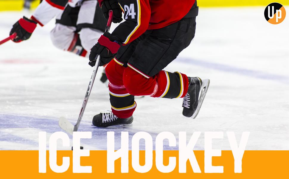 UphillSport Pro Anti-Cut Ice hockey L1 Compressed Shaft Sock Quick Dry, Inline Roller Hockey Gym Run