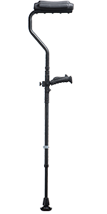 Ergobaum,dual, armpit, crutches