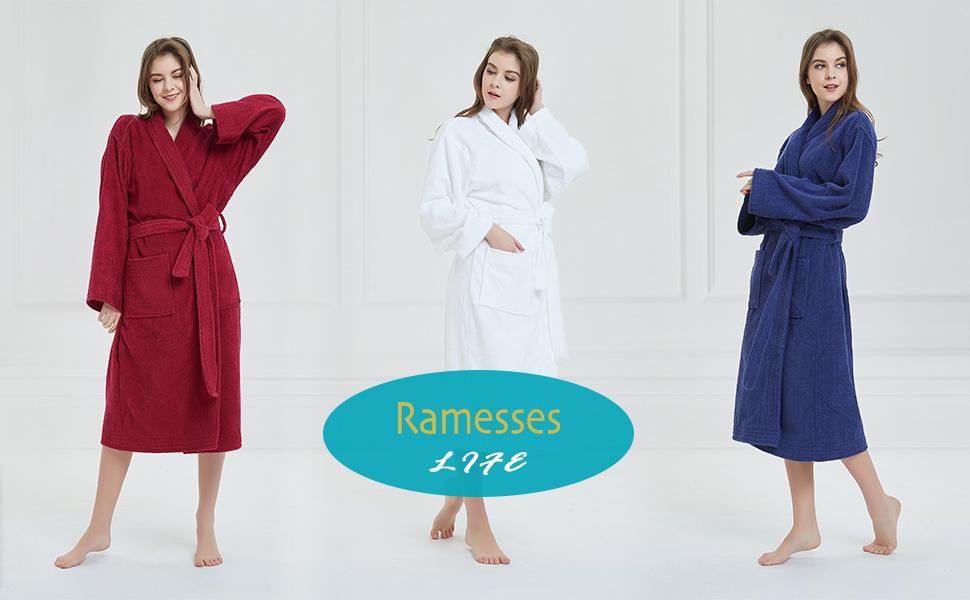 cotton men's bath robe women