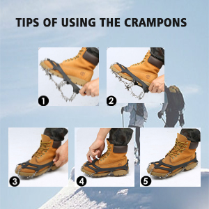 crampons for snow
