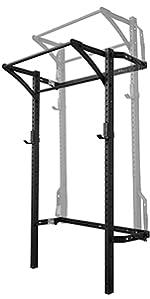 PRx Performance Murphy Rack Fold Up Squat Rack Power Rack Home Gym Garage Gym Shark Tank Company