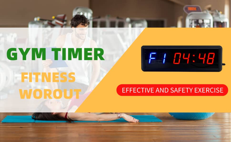 gym timer fitness countdown clock