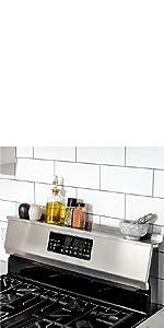 StoveShelf, magnetic, storage, shelf, kitchen, spice rack, stove, no installation, easy, organized