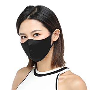 silk face mask for women