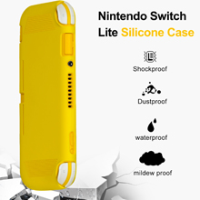 Silicone Case Cover Makes Your Switch Lite Look So Clean