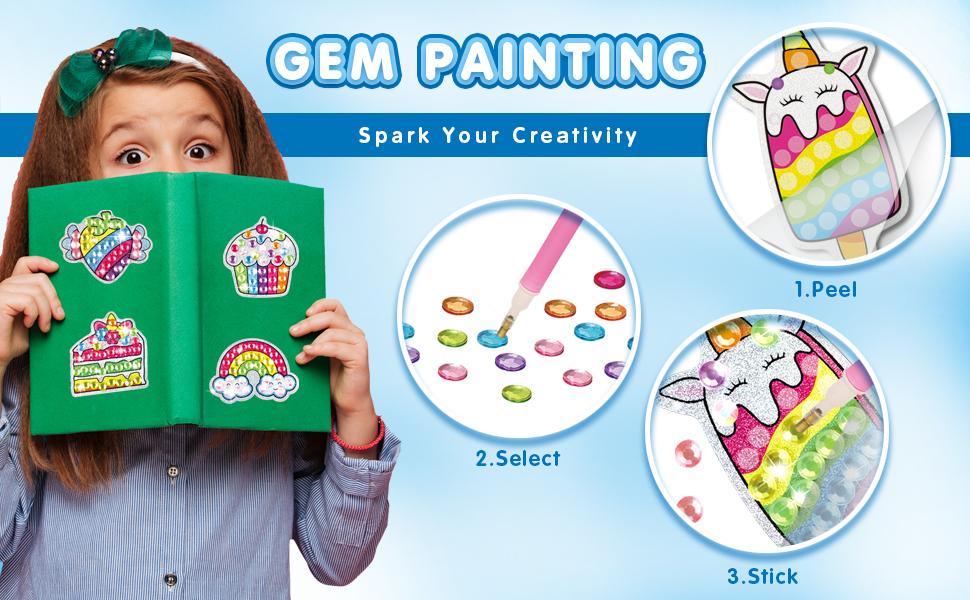 Diamond Painting Kit for Kids