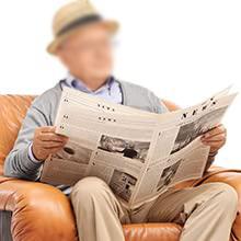 Reading for elderly