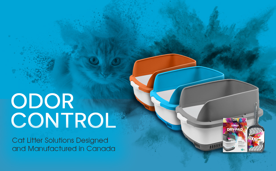 Eliminate Odors with the Cateco Complete Odor Control Cat Litter Box Starter Kit