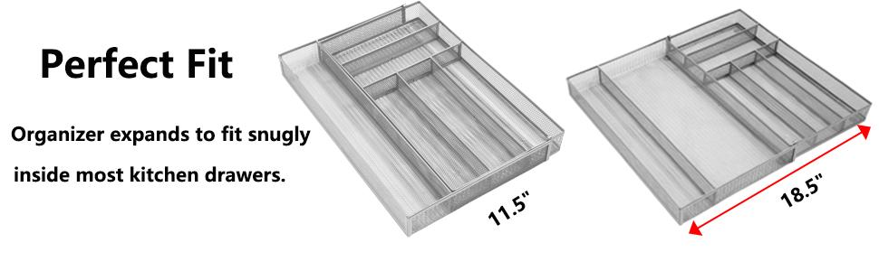 utensil drawer organizer