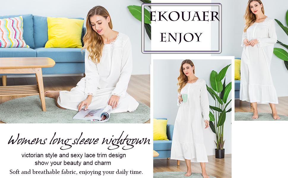 Ekouaer pajama