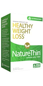 naturethin alternascript healthy weight loss diet appetite exercise supplement