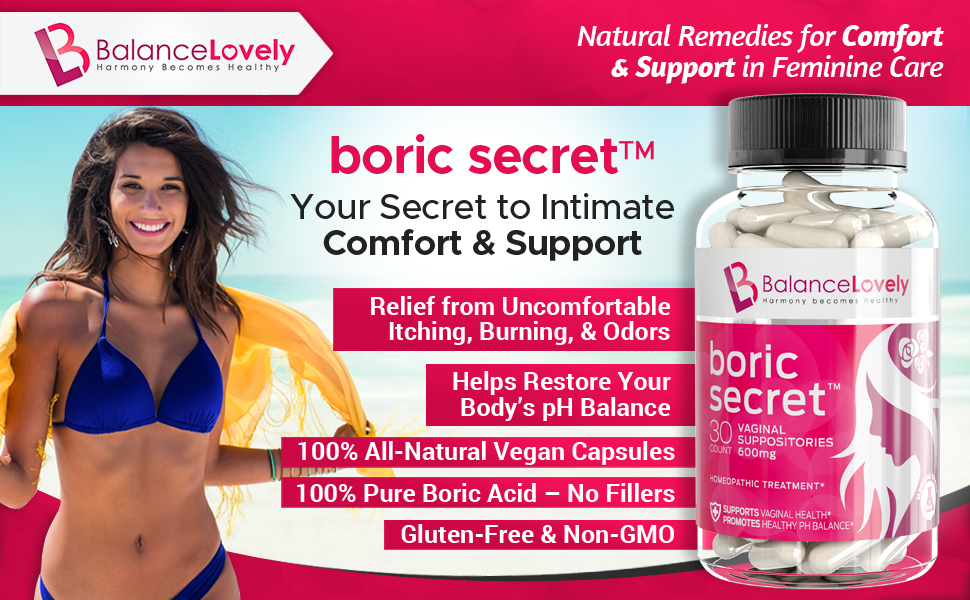 boric acid suppositories, boric acid, yeast infection,BV