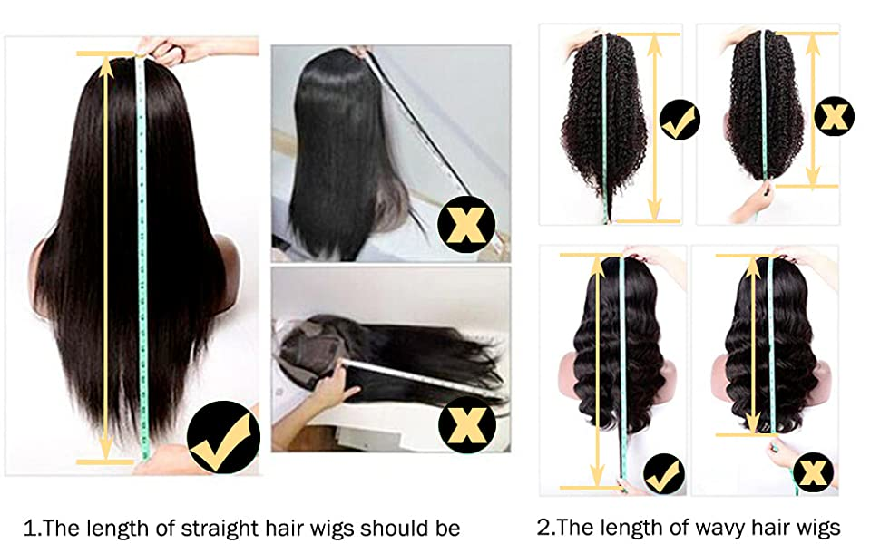 How to Correctly Meansure a Wig