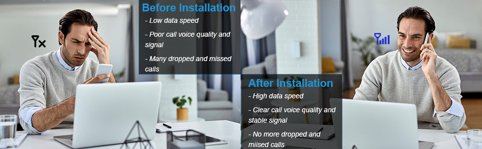 cell phone antenna signal booster for home