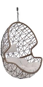 Danielle Hanging Egg Chair