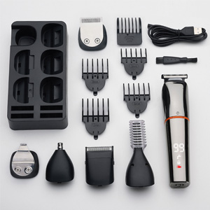 Hair Clipper Beard Trimmer Kit for Men Cordless Hair Mustache Trimmer