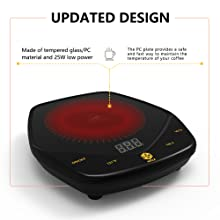 Mug warmer updated design