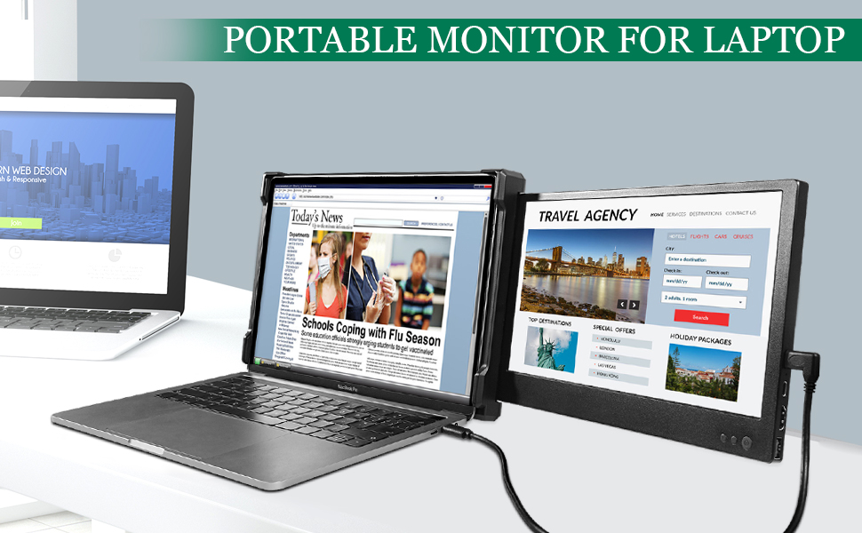 portable screen for laptop