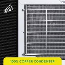 100% Copper Condenser