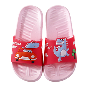 Kids Summer Slipper Fire Dragon House Slippers Shower Slide Anti-Slip Beach Pool Bath Sandals for Boys Girls