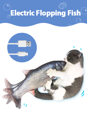 electric flopping fish