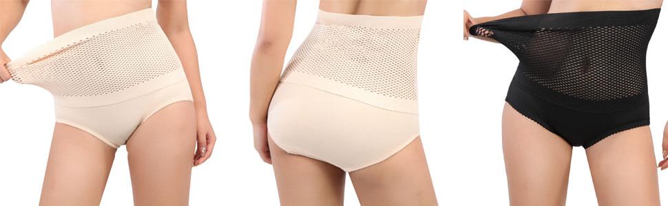Women Body Shaper Seamless Tummy Control Panties High Waist Butt Lifter Shapewear Briefs Slim