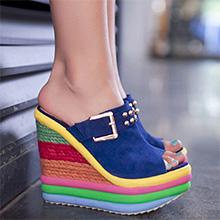 high heel sandals open toe mules