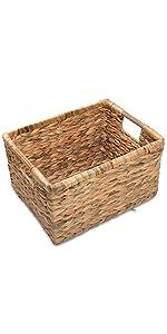 High water hyacinth basket for storage