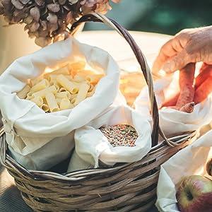 muslin cloth food