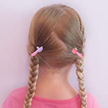 """50 Pieces 25 Colors in Pairs Baby Girls Fully Lined Hair Pins Tiny 2"""" Hair Bows Alligator Clips for"""