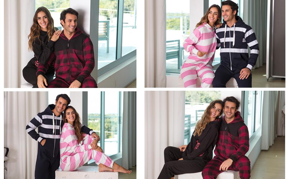 Onesies, Jumpsuits, One piece pajamas