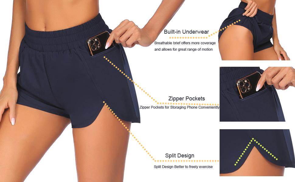 Tremaker running shorts