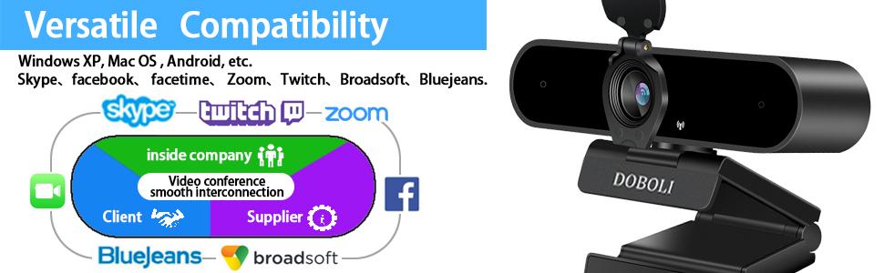 Versatile Compatibility