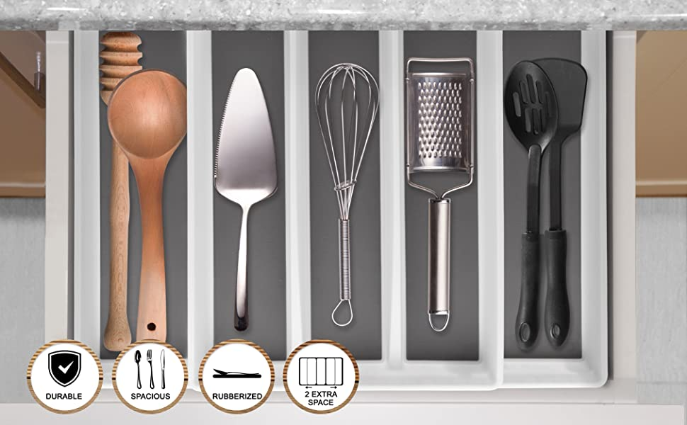 cultry clutery kitchendrawer compact organiser cutery suaylla home organizers popular pantry wear