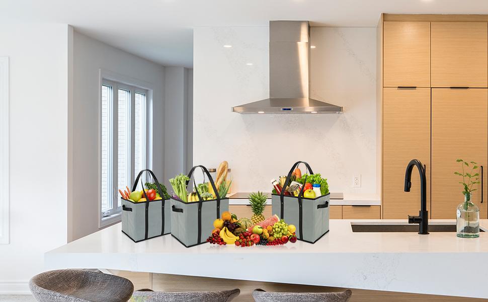 grocery box bag
