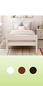 twin bed for boys wood twin bed frame for kids room small bed room twin size wood bed