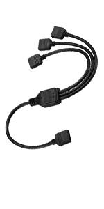 LED light strip RGB splitter cable