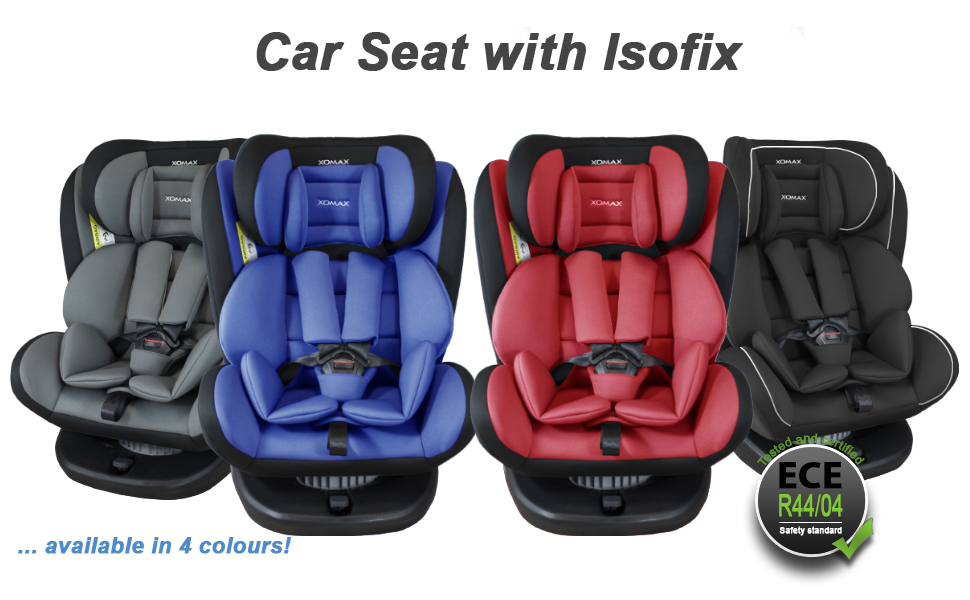 washable I ECE R44//04 XOMAX 916 Child car seat with 360/° rotation /& ISOFIX I growing with your child I 0-36 kg group 0//1//2//3 I 5-point harness and 3-point harness I cover removable 1-12 years