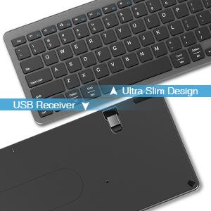 slim keyboard