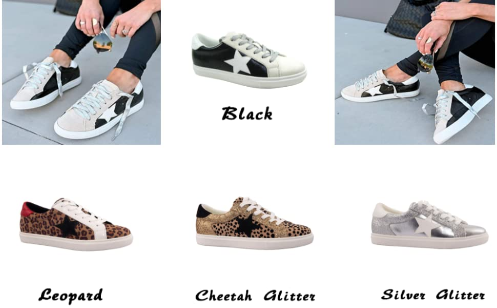 Women Fashion Star Sneakers