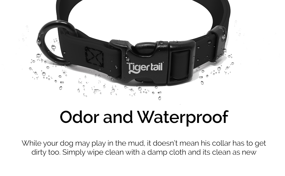 Tiger Tail Waterproof and Odor Proof Collar