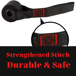 Durable Nylon with Double Strengthened Stitch Door Anchor