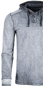 button henley raglan long sleeve round bottom moon color block activewear mens signatur teenager