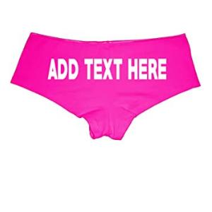 Sexy Custom Panties