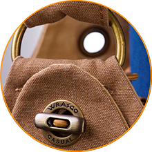 WRASCO 2-ways lock with eyelet and toggle button