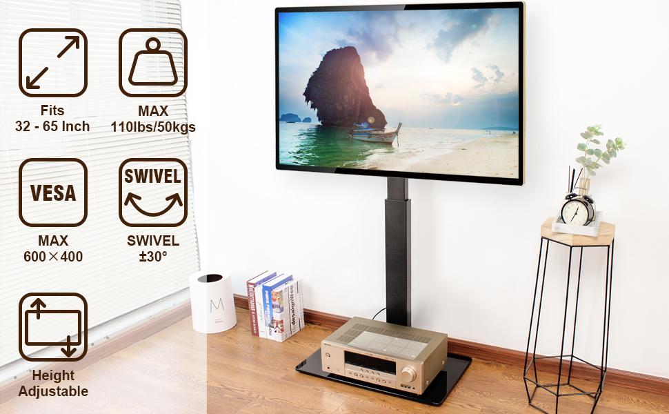 FLOOR TV STAND