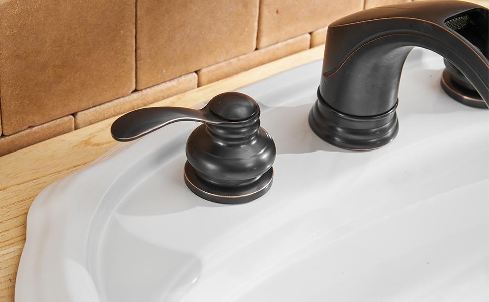 bathroom faucet oil rubbed bronze