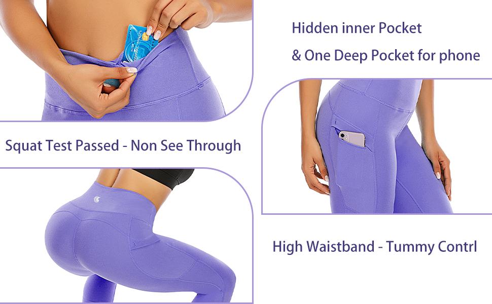 white leggings for women high waisted compression leggings non see thru seamless yoga gym pants
