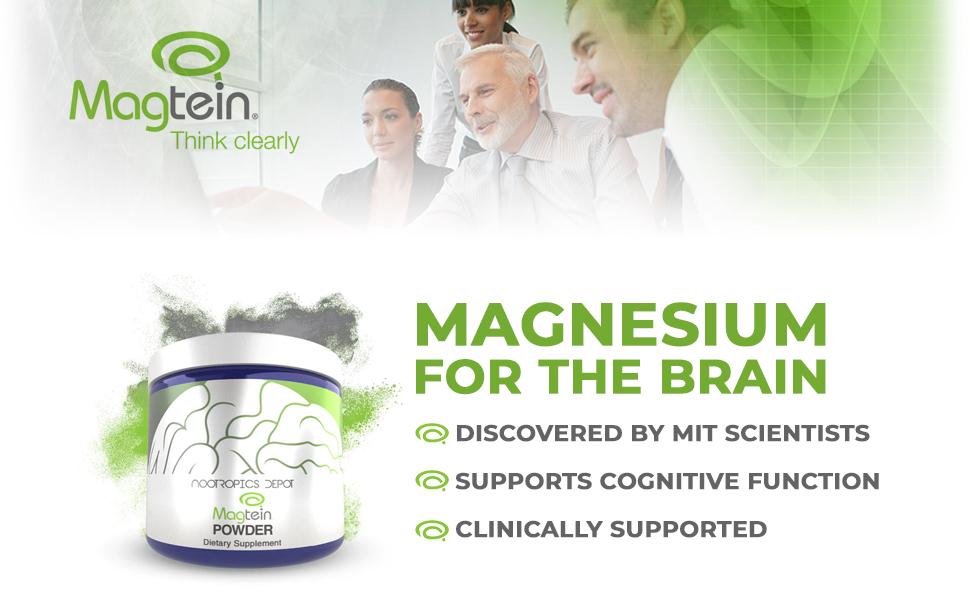 magtein powder, magnesium thronate powder, magtein nootropics depot, best magnesium supplement
